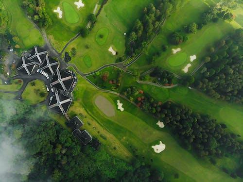 Δωρεάν στοκ φωτογραφιών με dji, αεροφωτογράφιση, βίντεο από drone, γήπεδο γκολφ