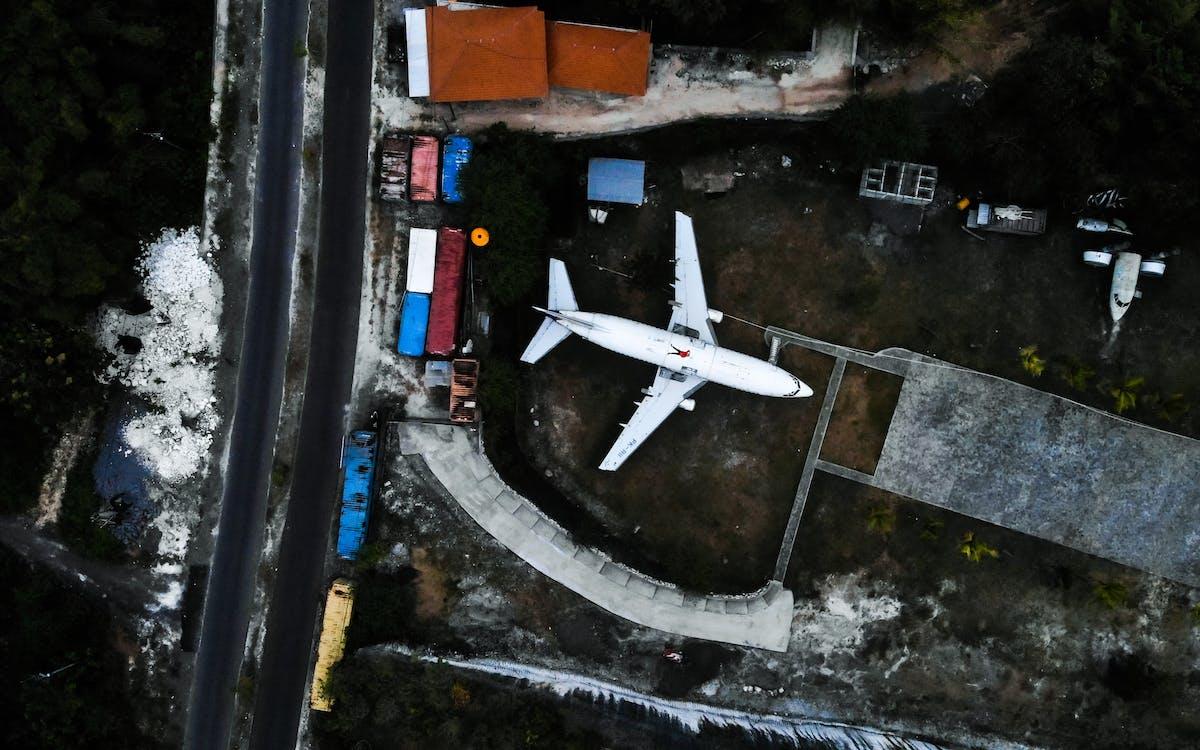 Bali, Indonézia, letecký záber