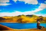 landschaft, berge, himmel