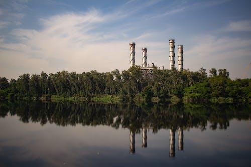 Foto stok gratis air, alam, bangunan industri, cairan