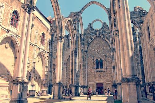 Základová fotografie zdarma na téma architektura, budova, carmo klášter, církev