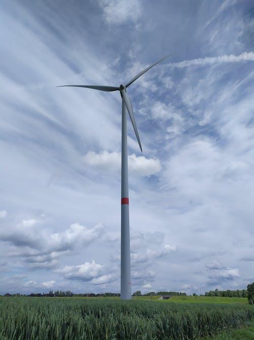 Бесплатное стоковое фото с Альтернативная энергия, ветровая турбина, ветряная мельница, возобновляемый источник энергии