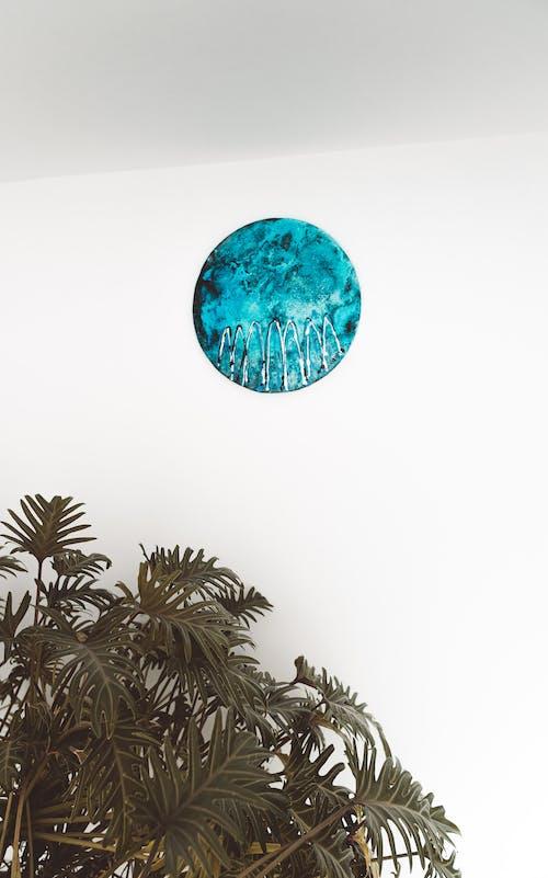 Gratis lagerfoto af abstrakt oliemaleri, blade, cirkel, dekoration