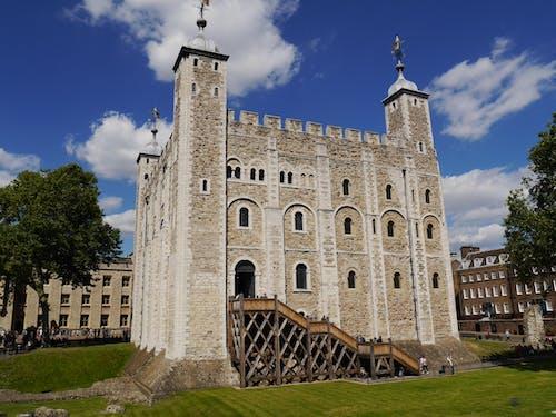 건축, 고대의, 궁전, 런던의 무료 스톡 사진