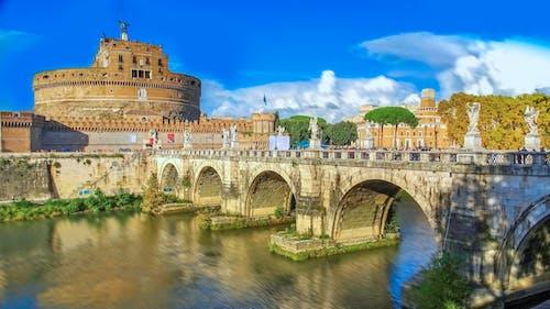 castel sant'angelo, 古老的, 城堡, 建築 的 免費圖庫相片