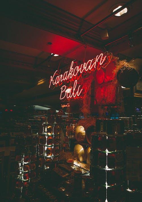 LEDライト, インドア, グループ, ダークの無料の写真素材