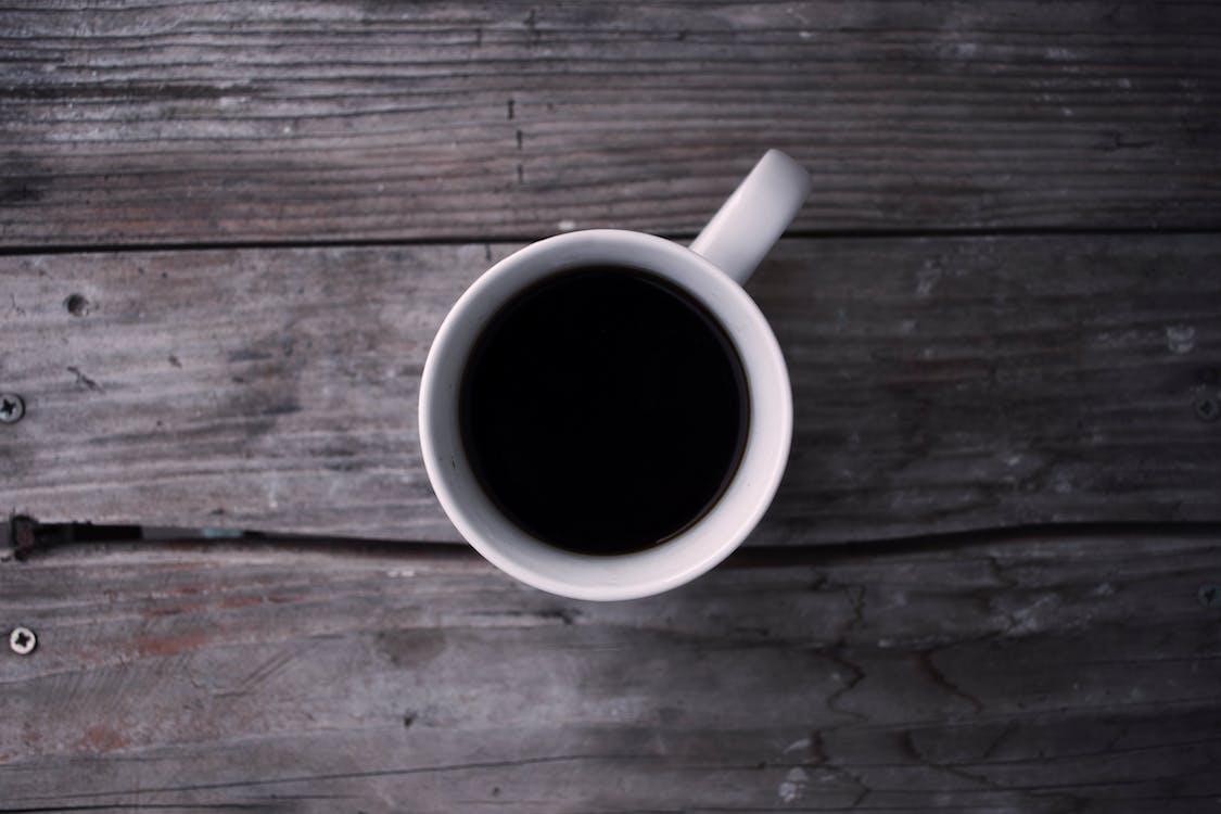 Filled White Mug