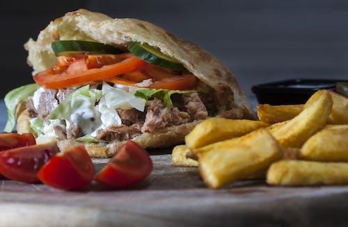 Foto profissional grátis de alimento, carne, carne bovina, close