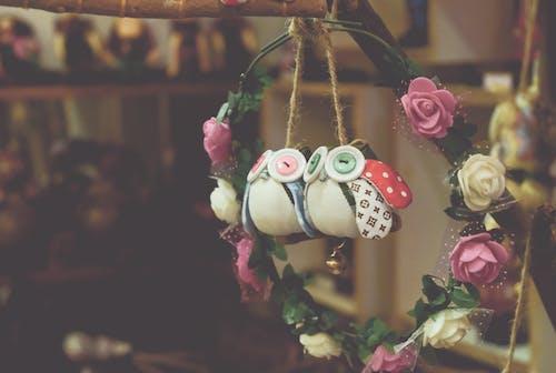 Gratis lagerfoto af artwork, blomster, blomsterkrone, close-up