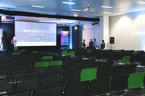 Ingyenes stockfotó esemény, kék, konferencia, nyitott szoba témában