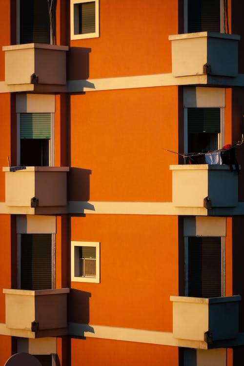 архітектура, балкони, місто