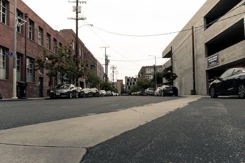 คลังภาพถ่ายฟรี ของ ดาวน์ทาวน์แอล, ตัวเมือง, ถนน, ที่จอดรถ