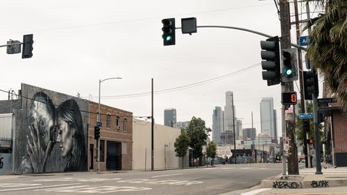 duvar resmi, Kent, Los Angeles, sanat bölgesi içeren Ücretsiz stok fotoğraf