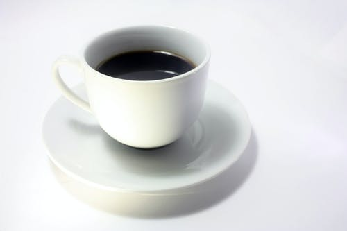 Kostenloses Stock Foto zu kaffee, minimal, schwarz und weiß