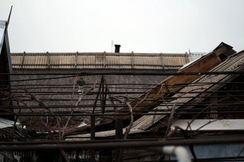 Foto profissional grátis de abajur, cobertura, luminária, telhado