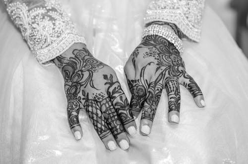 Fotos de stock gratuitas de alheña, Arte, brazos, dedos