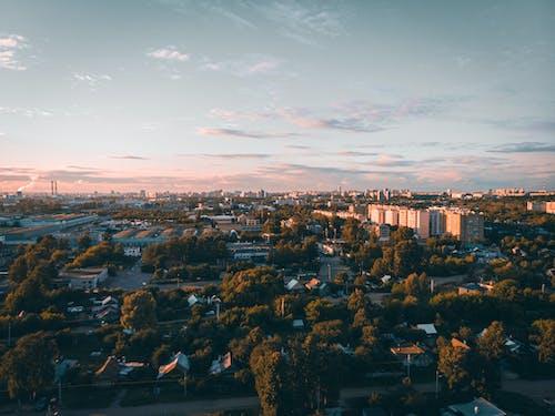 Δωρεάν στοκ φωτογραφιών με Ανατολή ηλίου, απόγευμα, αρχιτεκτονική, αστικός