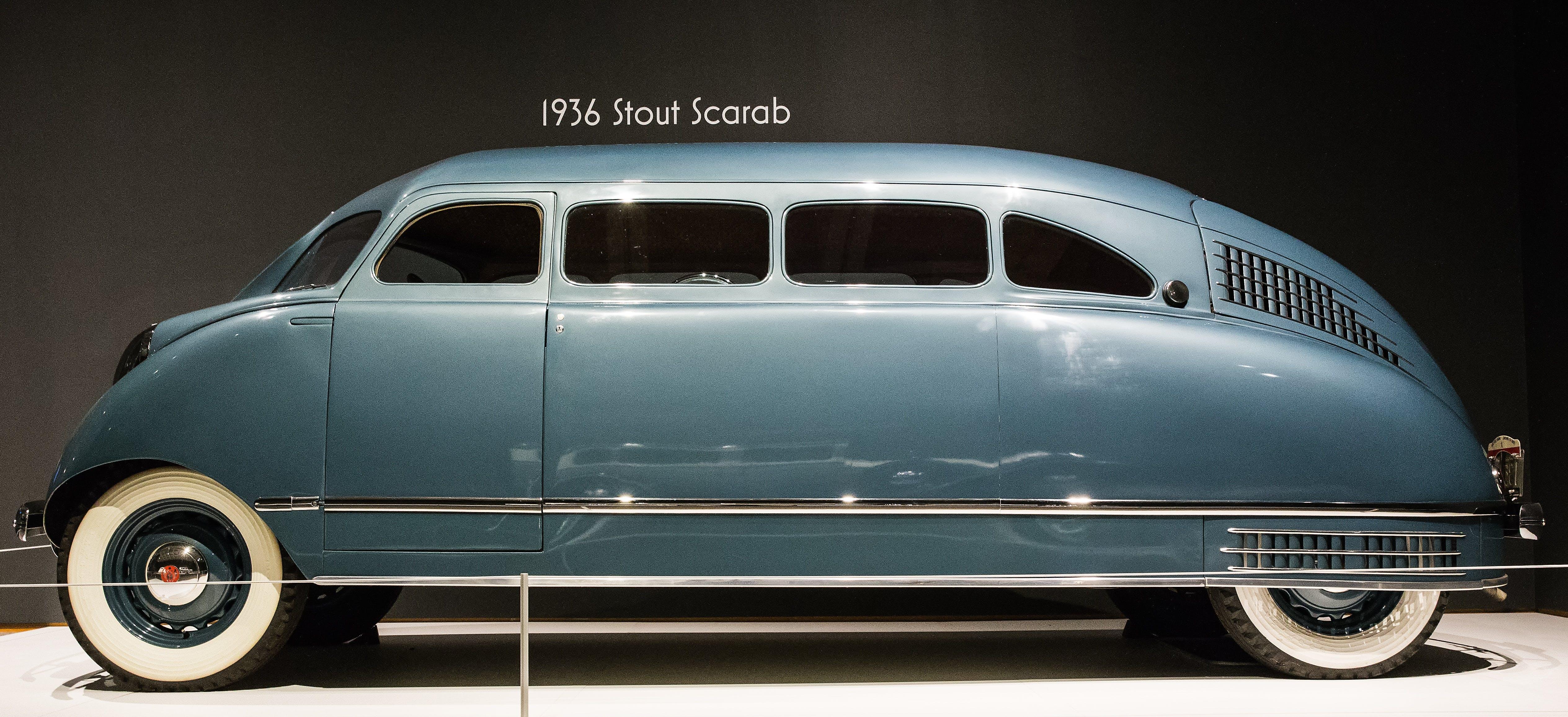 Kostenloses Stock Foto zu 1936 stout scarabäus, auto, automobil, chrom