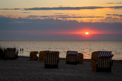 Ilmainen kuvapankkikuva tunnisteilla aamu, auringonlasku, aurinko, hiekka