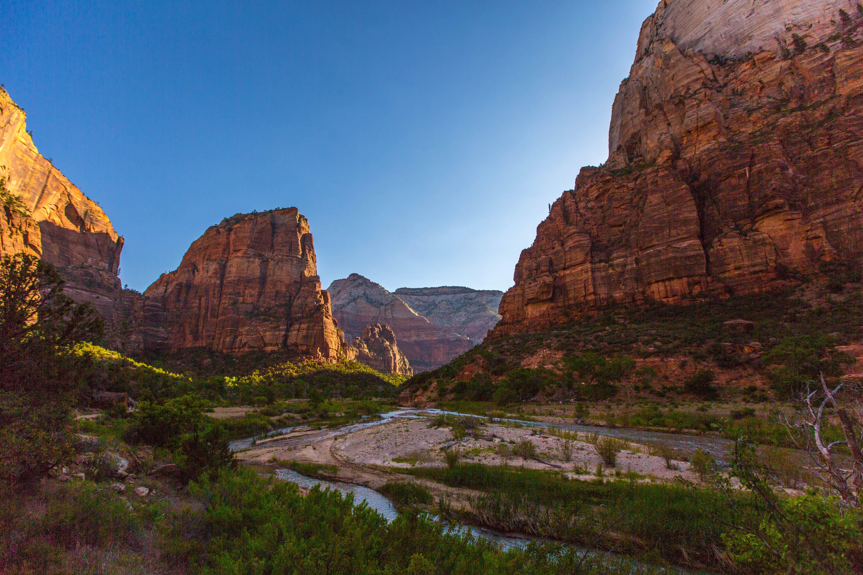 Kostenloses Stock Foto zu berg, canyon, draußen, fluss