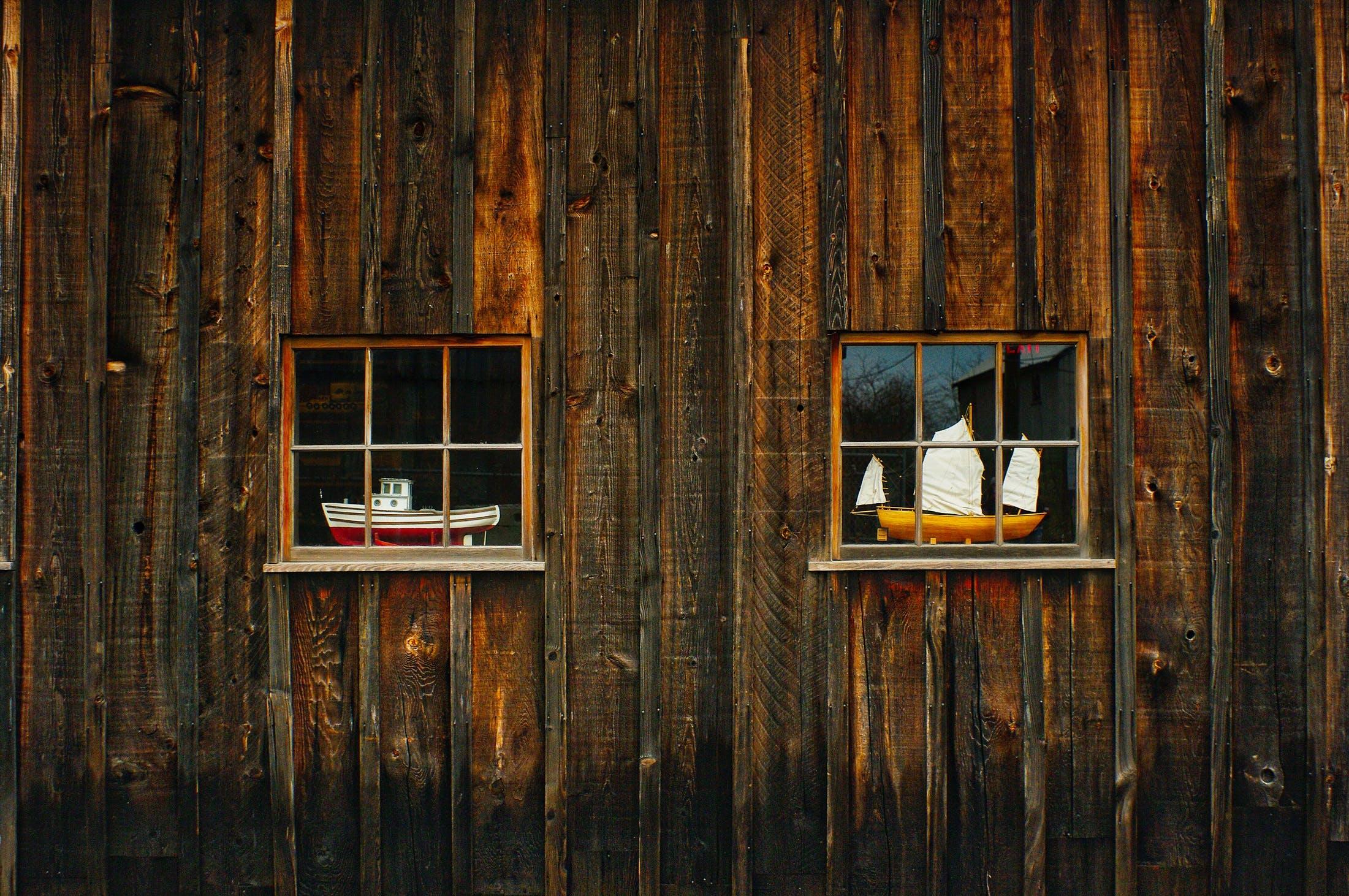 Foto d'estoc gratuïta de arquitectura, art, barques, cabina