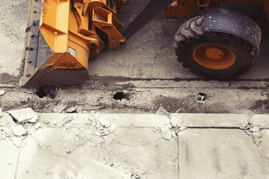 Free stock photo of street, construction, industry, excavator