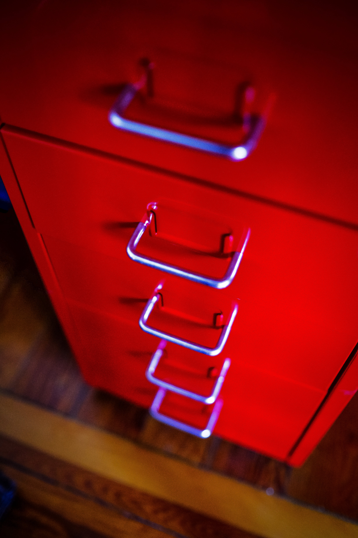 Close-up of Illuminated Red