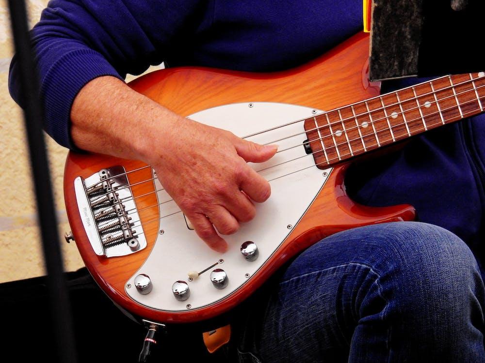 akustisk, bass, fremføring
