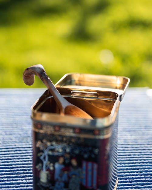 건조한, 나무 숟가락, 맛, 블랙 커피의 무료 스톡 사진
