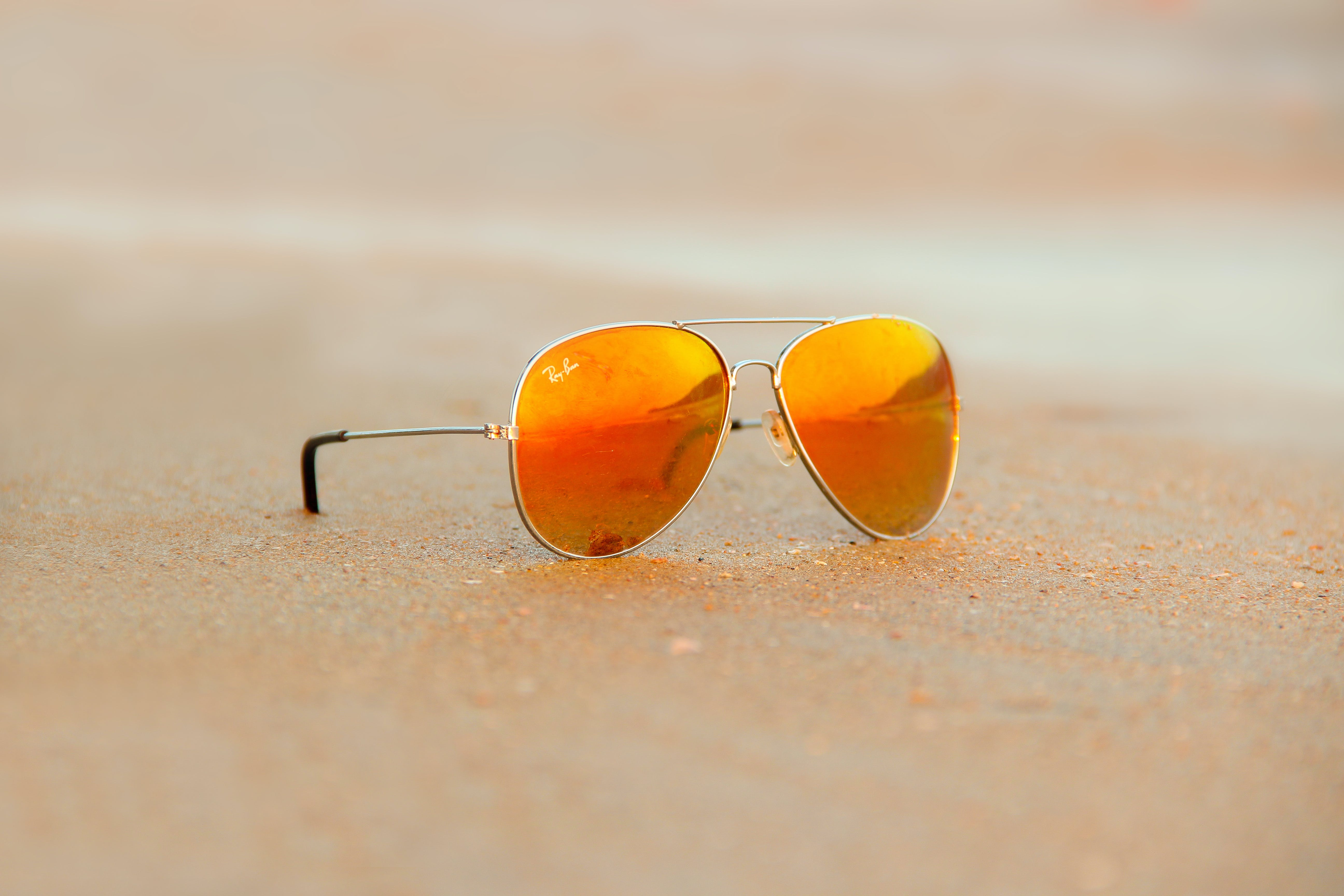 Close-up of Rayban Sunglasses