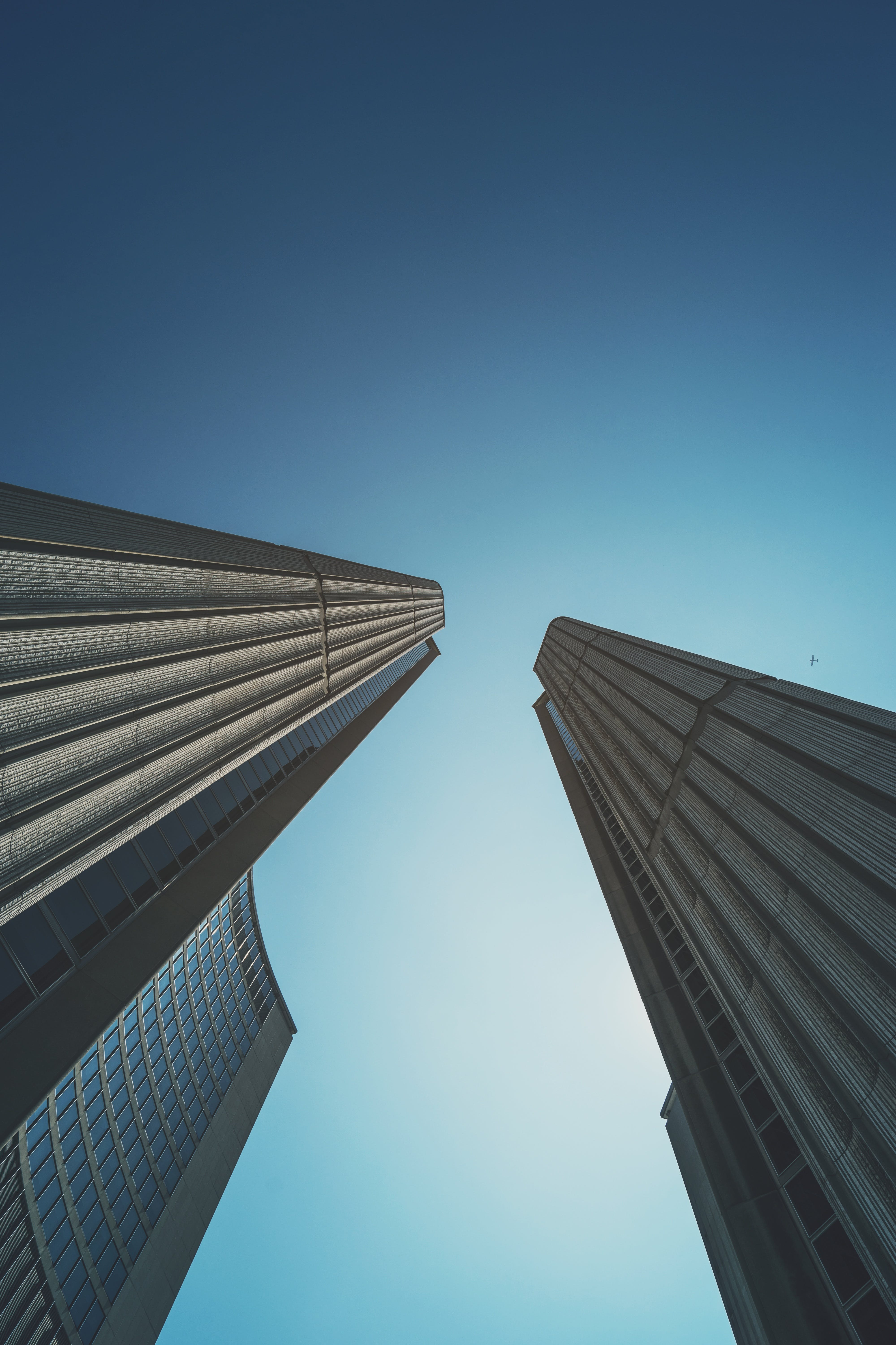 architecture, buildings, low angle shot