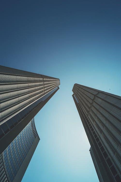 архітектура, будівлі, жаб'яча перспектива