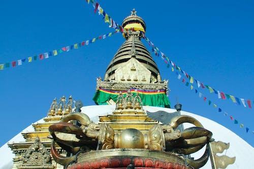 Foto stok gratis candi Budha, kudus, swayambhu