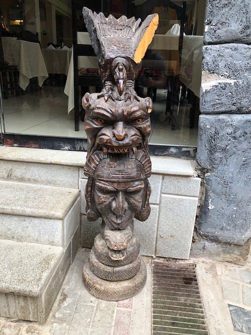 Gratis lagerfoto af dyr, indisk, rejse, skulptur