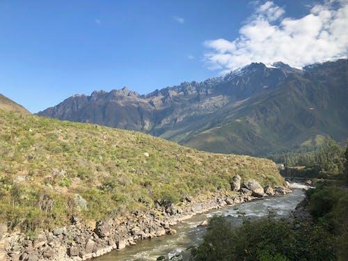 Gratis lagerfoto af bjerge, dal, flod, natur