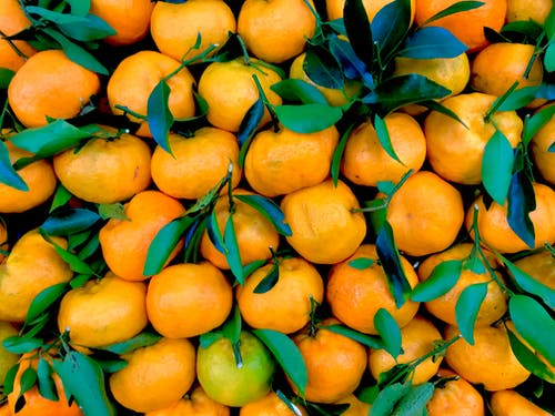 Pile Of Orange Fruits