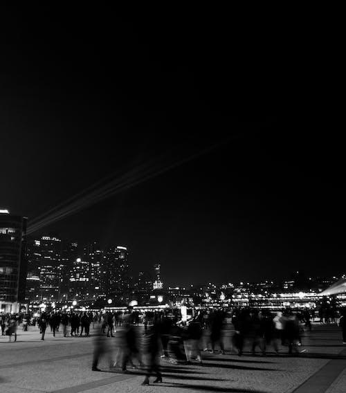 Kostenloses Stock Foto zu australien, lebendig, nachtaufnahmen, sydney hafenbrücke