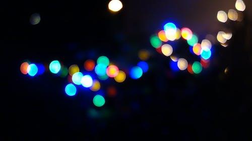 Ilmainen kuvapankkikuva tunnisteilla sumea, valosarja