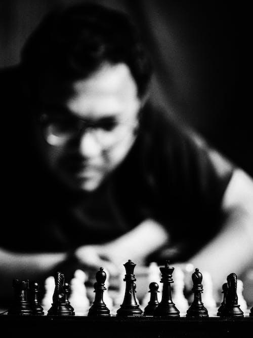 Gratis stockfoto met bnw, kunst foto, opvallend, schaak
