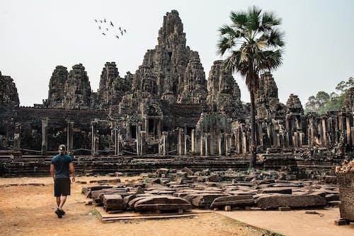 Бесплатное стоковое фото с ангкор, ангкор тхом, Археология, архитектура