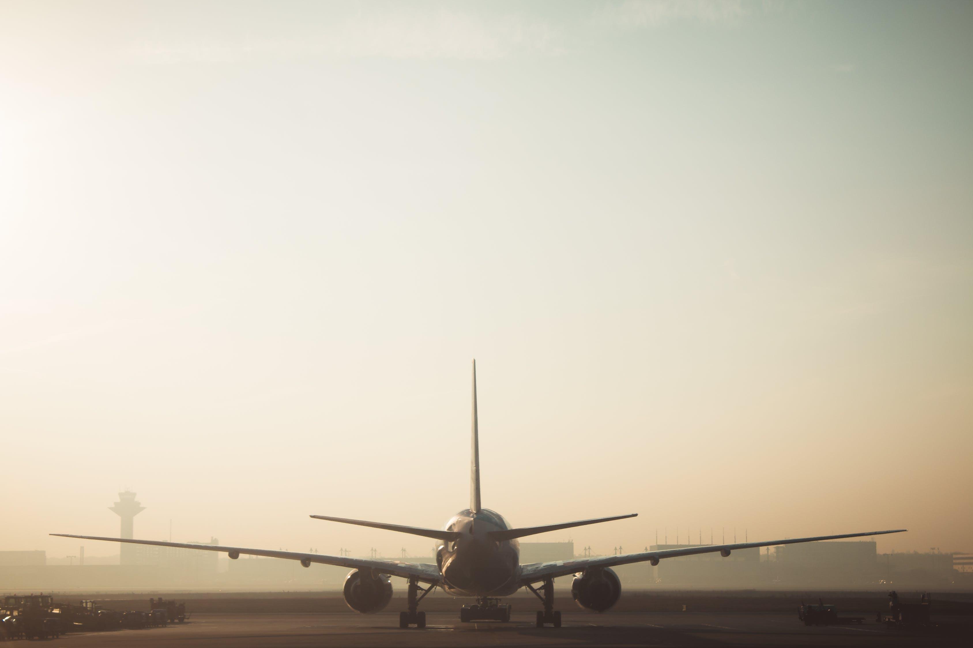 White and Gray Airplane