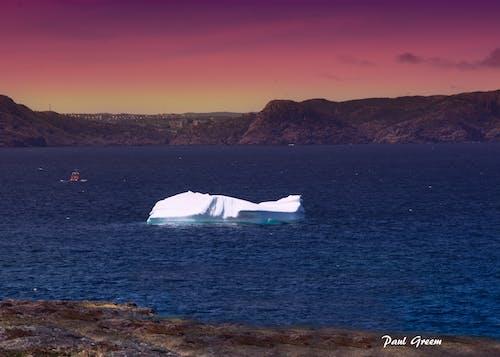 Kostnadsfri bild av båt, cape spear, himmel, isberg