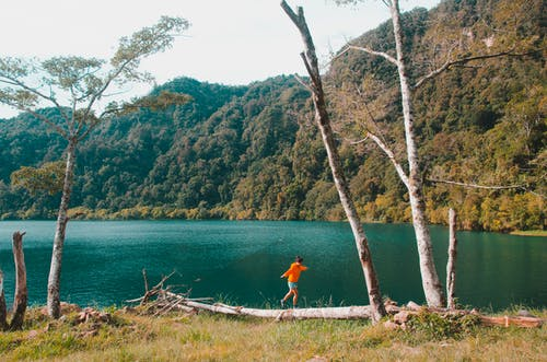 Gratis stockfoto met avontuur, nationaal park kratermeer, reizen, reiziger