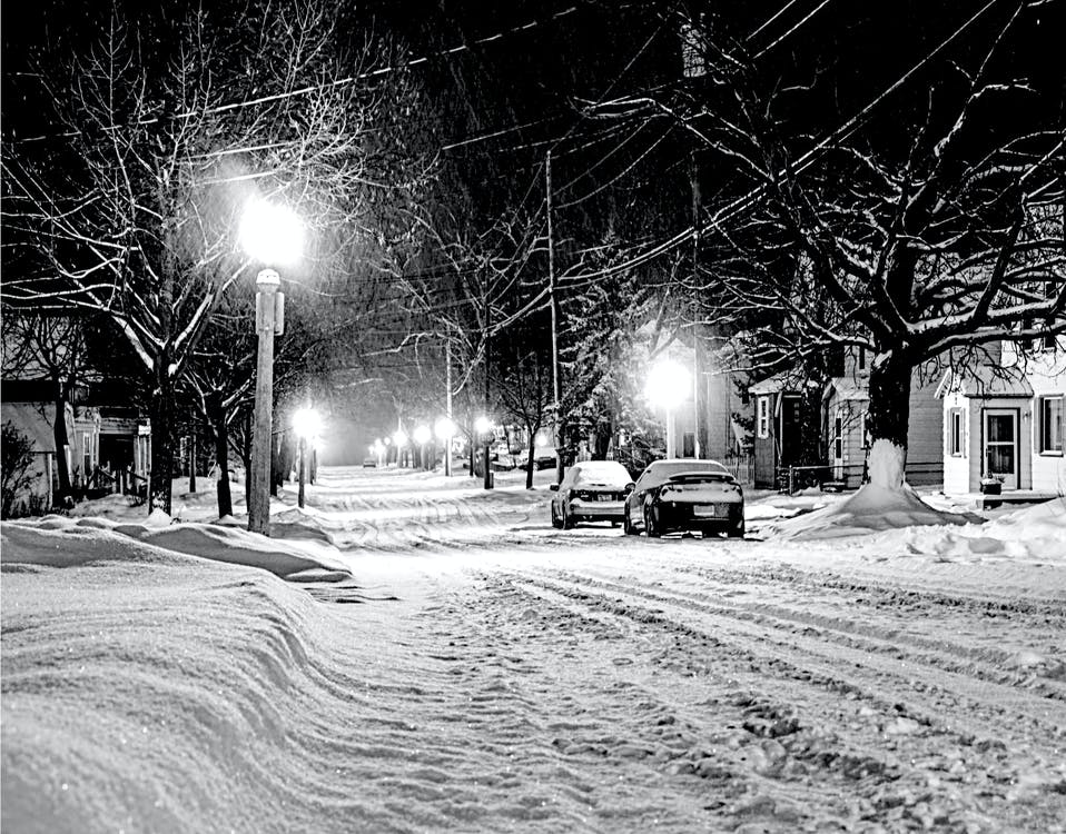 Foto stok gratis datang, dingin, jalan
