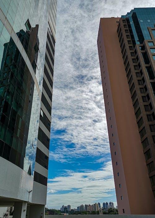 Free stock photo of blue sky, buildings, city