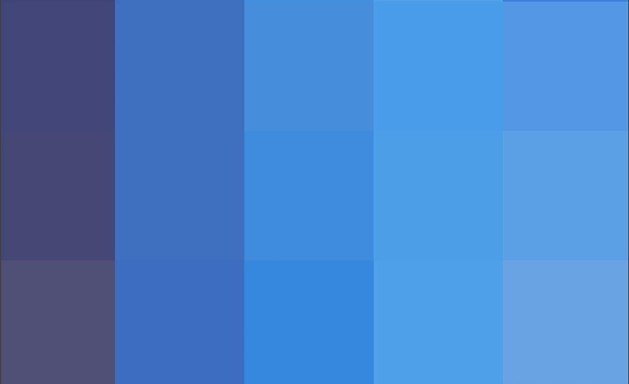 藍色, 調色盤, 顏色