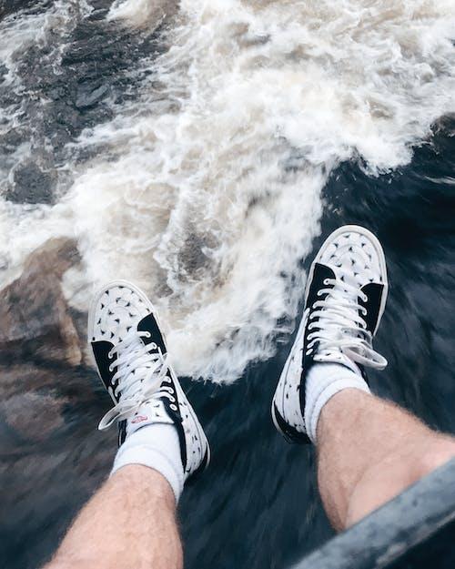 คลังภาพถ่ายฟรี ของ ขา, คน, คลื่น, น้ำ