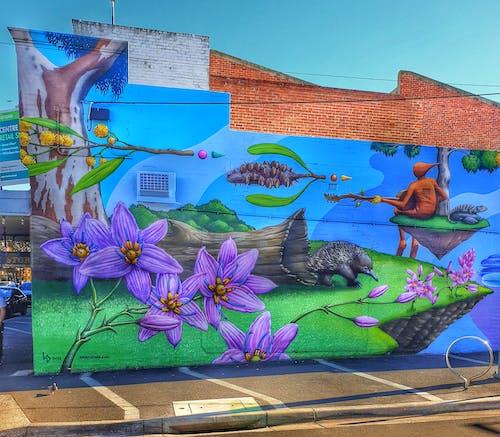 Foto d'estoc gratuïta de art de carrer, art mural, art suburbà, mural