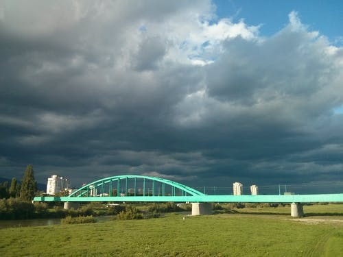Free stock photo of bridge, bridges, cloud, cloudy skies