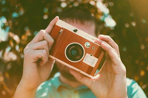 Δωρεάν στοκ φωτογραφιών με macro, άνδρας, άνθρωπος, κάμερα